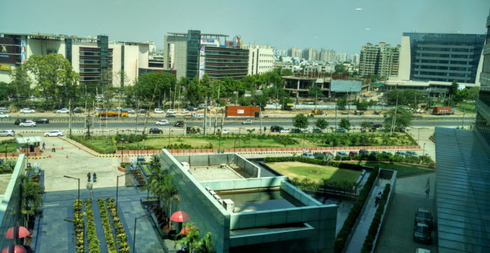 Street view from BluePi's New Office